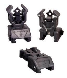 Diamondhead Polymer Flip Rear Sight with NiteBrite Insert