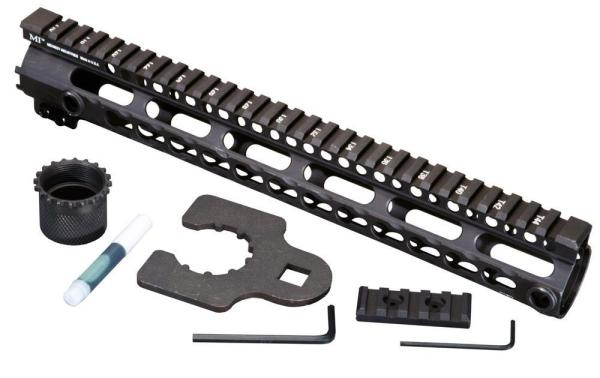 Midwest Industries Key Mod 15 inch One Piece Handguard for .223 AR15/M16