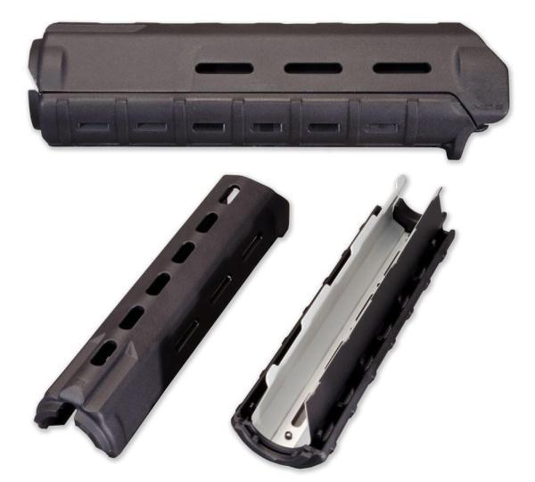 Magpul MOE M-Lok Mid-Length Handguard Set for AR15 / M16