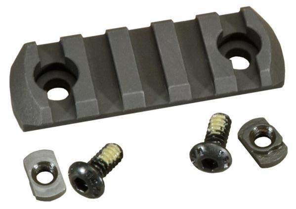 Magpul M-LOK 5 Slot Aluminum Picatinny Rail Section