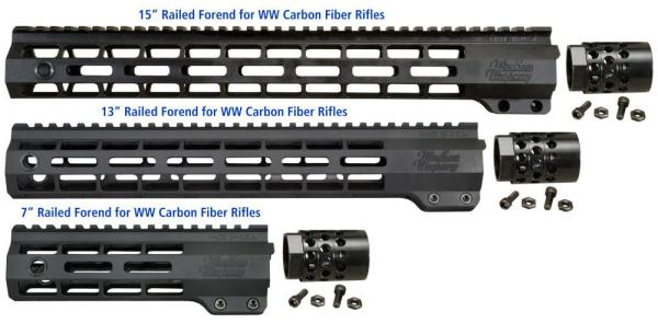 Windham Weaponry Free-Floating Railed Handguard for Carbon Fiber Rifle