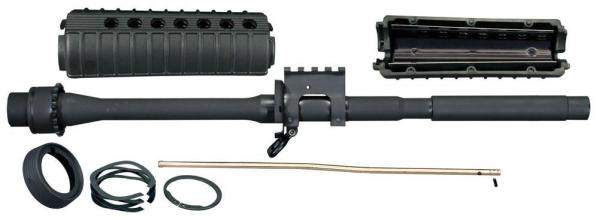 Windham Weaponry 16in M4 Crowned Barrel Kit with MIL-STD-1913 Railed Gas Block - .223/5.56mm Caliber