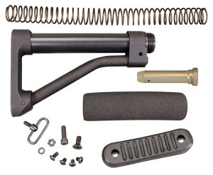 CAR Length Skeleton Stock Kit for AR15 / M16