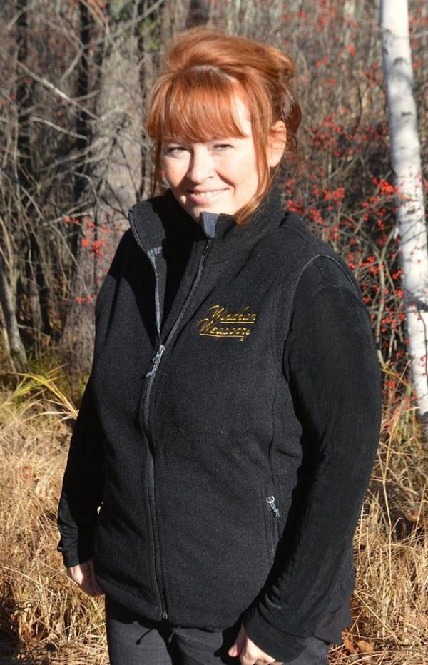 Windham Weaponry Black Fleece Vest for Women