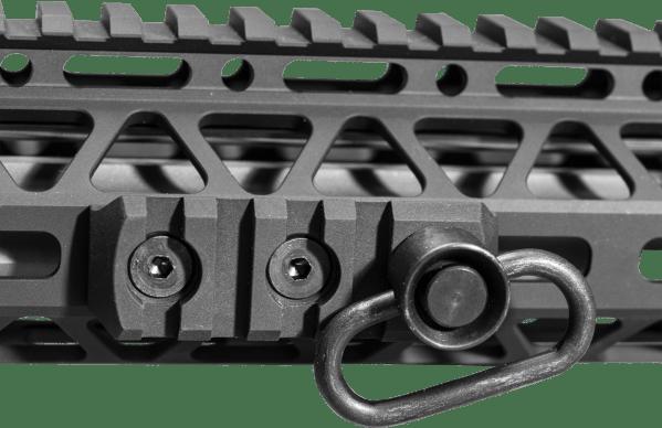 M-LOK / QD Swivel and Rail section