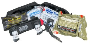 First Aid Trauma Kit with CAT Tourniquet