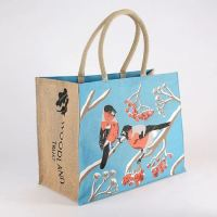 Garden Bird: Bullfinch Reusable Shopping Bag