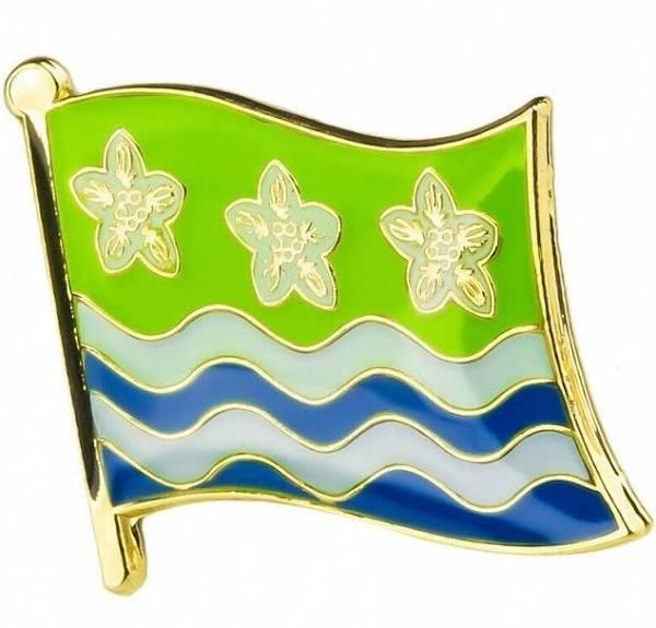 Cumberland Lapel Pin Badge