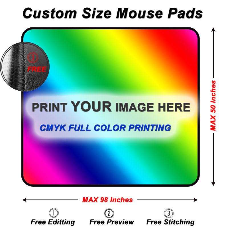 custom mouse pads any