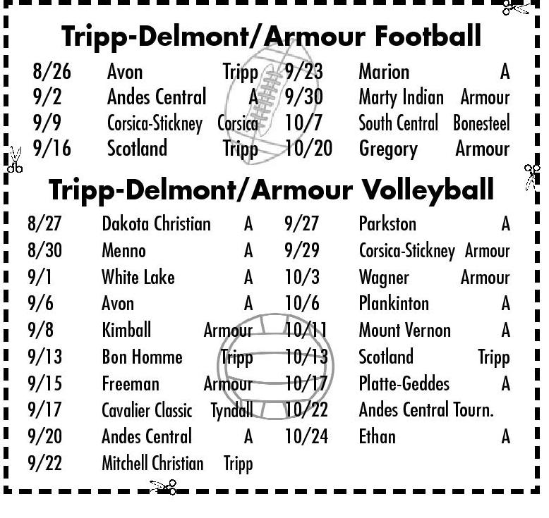 Tripp-Delmont/Armour Football/Volleyball