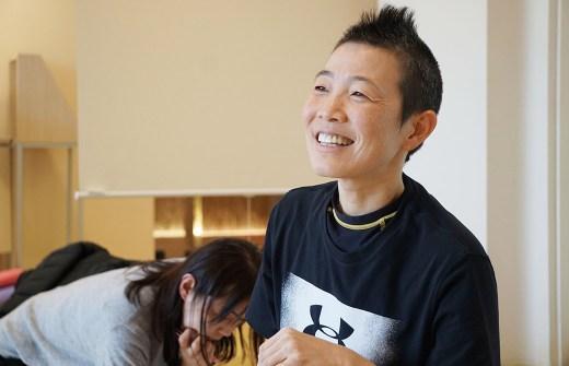 産婦人科医高尾美穂先生の笑顔