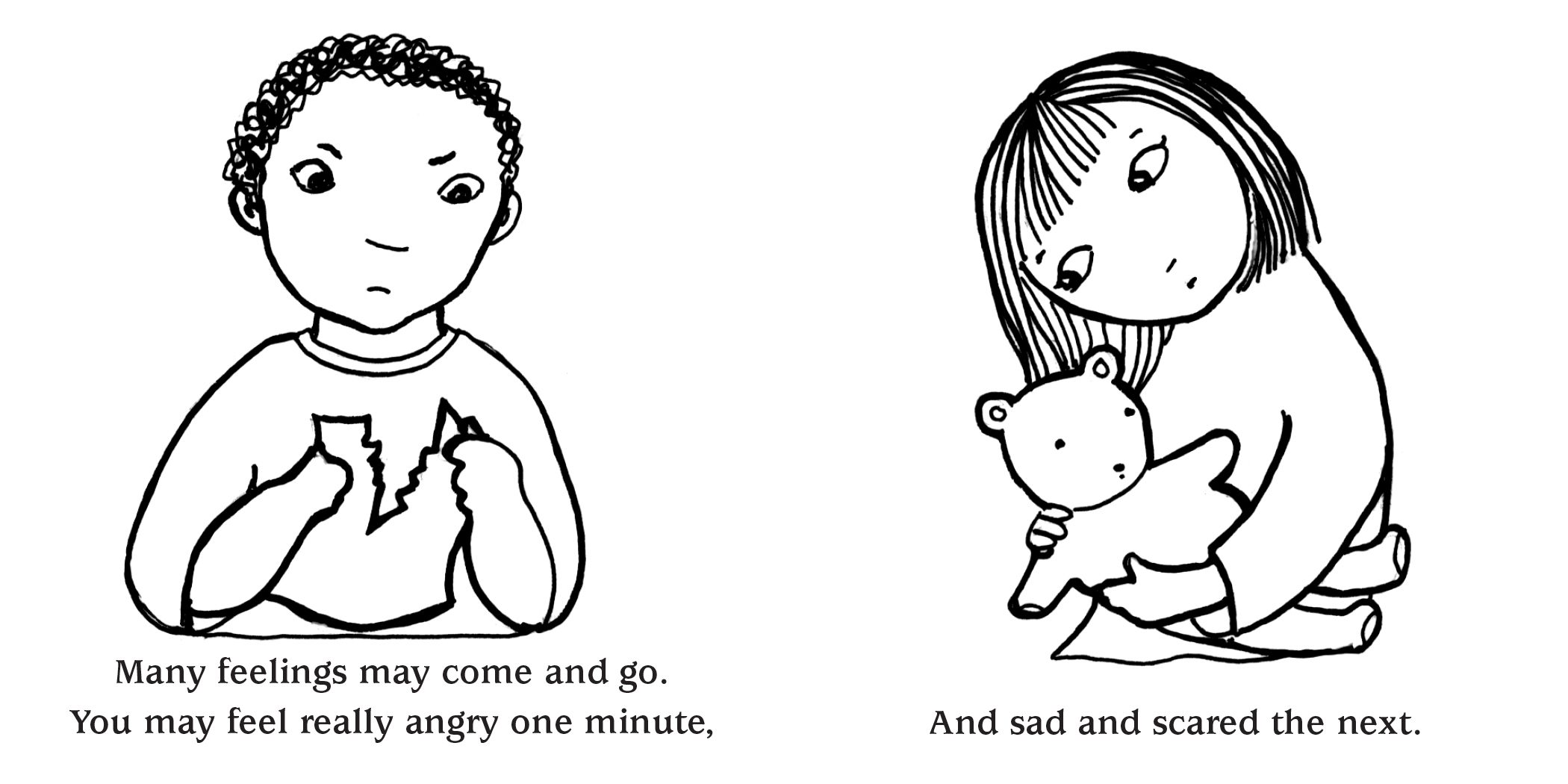 Little Book of Healing: a Coloring Book for Grief and Loss