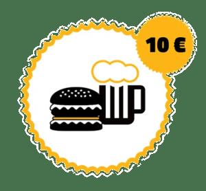 ŽiWELL poukaz na konzumáciu v hodnote 10€