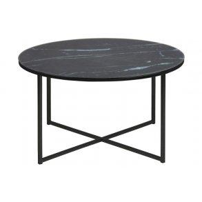 billige sofaborde online convertible sofa air bed sofabord gratis fragt og prismatch pa se nu alisma sort mat glas rund glasplade m marmor print inkl