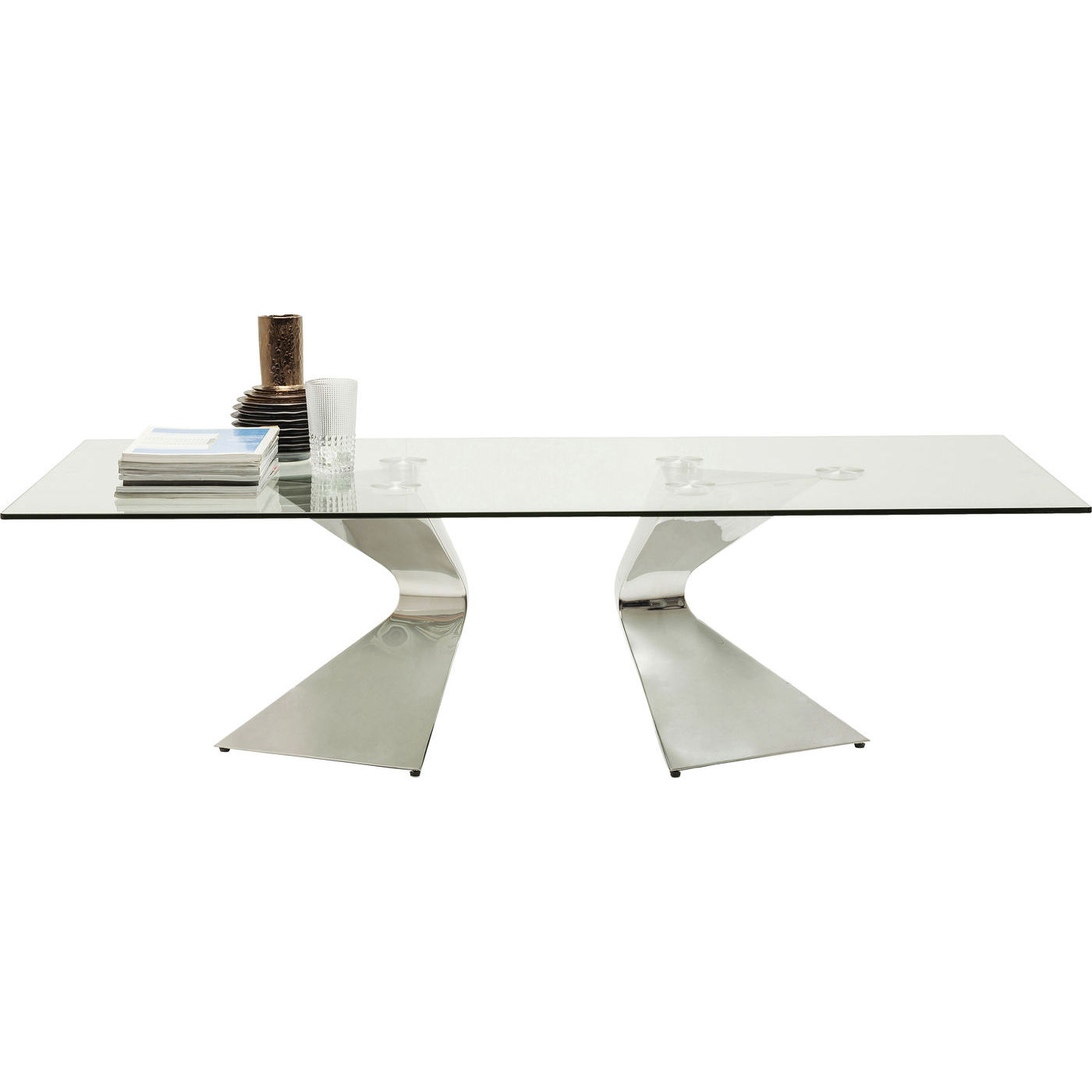 billige sofaborde online billig sofaer kob kare design sofabord gloria chrome 140x82cm billigt pa tilbud