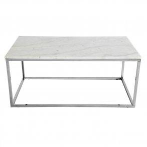 billige sofaborde online home decorators tufted sofa sofabord gratis fragt og prismatch pa se nu accent hvid marmor krom 110x60