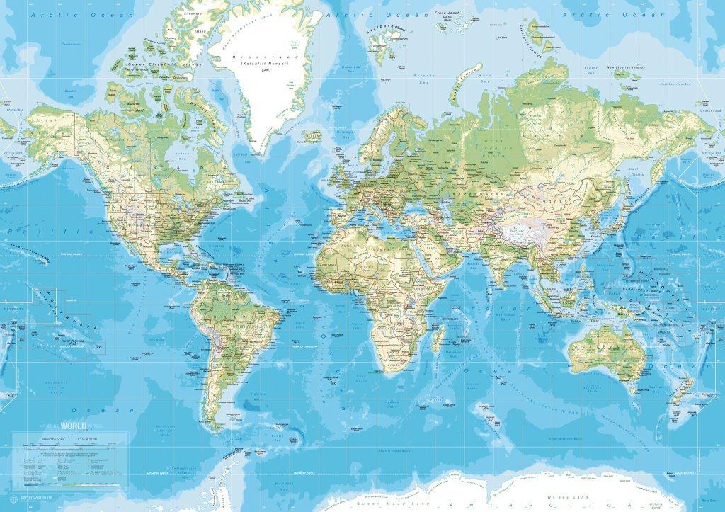 Landkort Danmark Europa og verden  Kb landkort til
