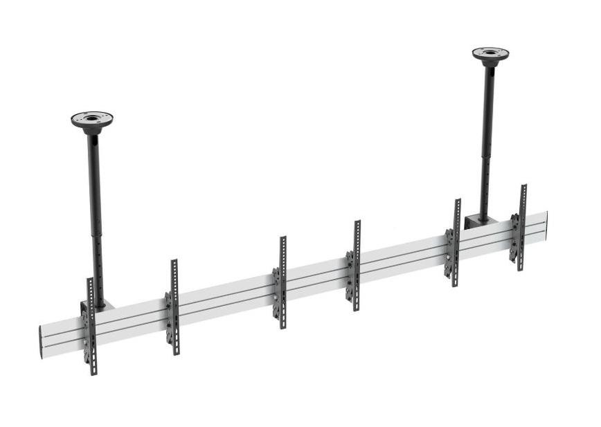 Loftbeslag til reklamebøjle, TV og LCD/LED, 600x400, 45KG