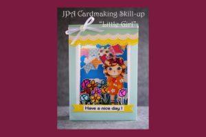 スキルアップ講座 Little Girl(3Dカード)