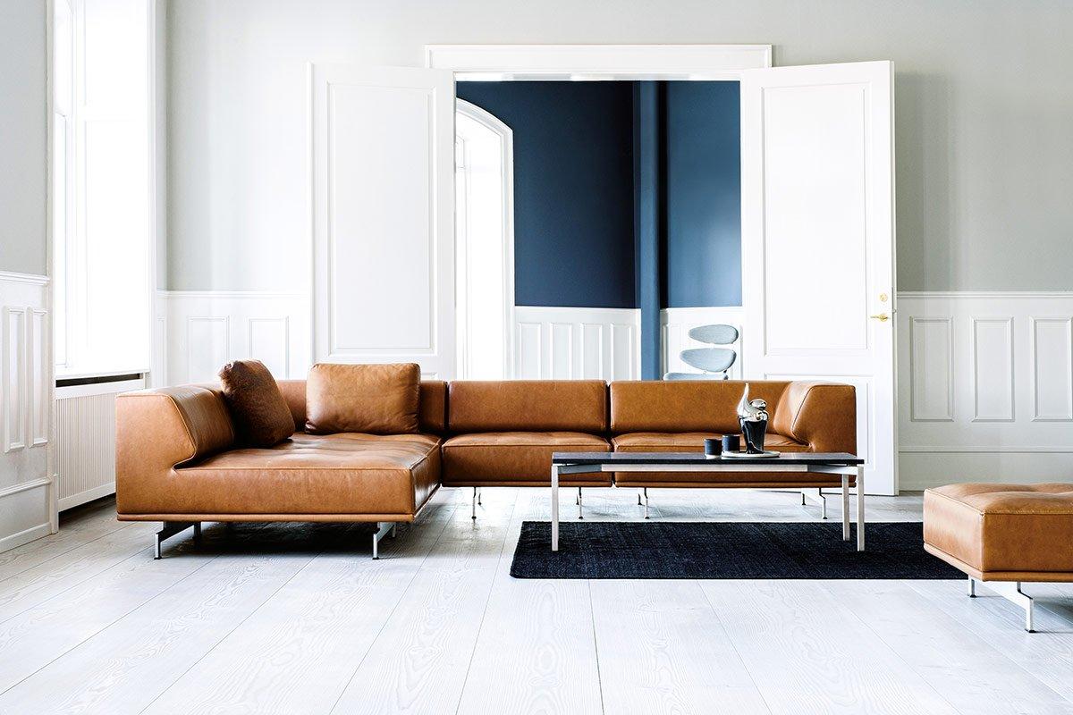 Delphi Sofa I Laeder Kob Den Her Fri Fragt