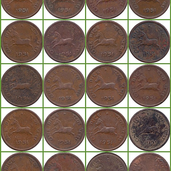1951-one-pice-horse-coin-o