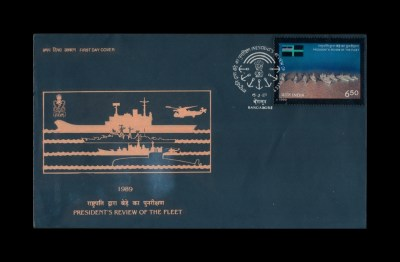 FIRST DAY COVER President's Review Of The Fleet 15.08.1989