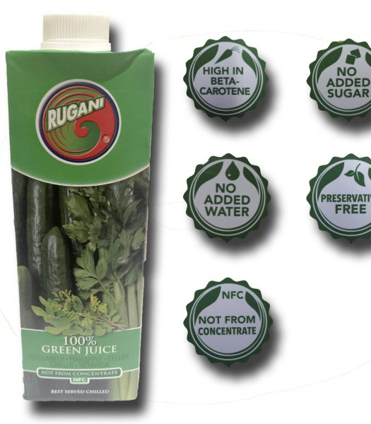 Rugani Green Juice 750ml