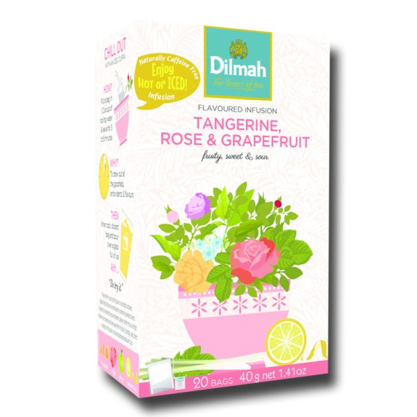 Dilmah Tangerine Rose Grapefruit