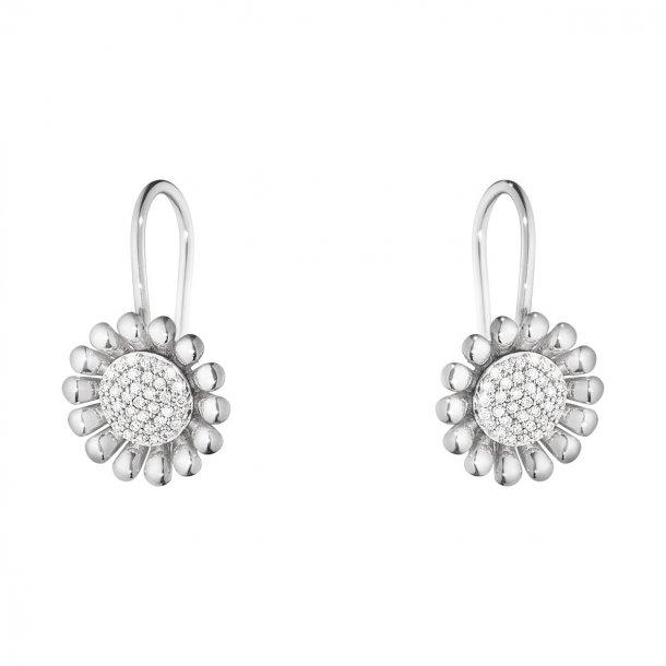 3539328 Sunflower øreringe fra Georg Jensen i sølv med