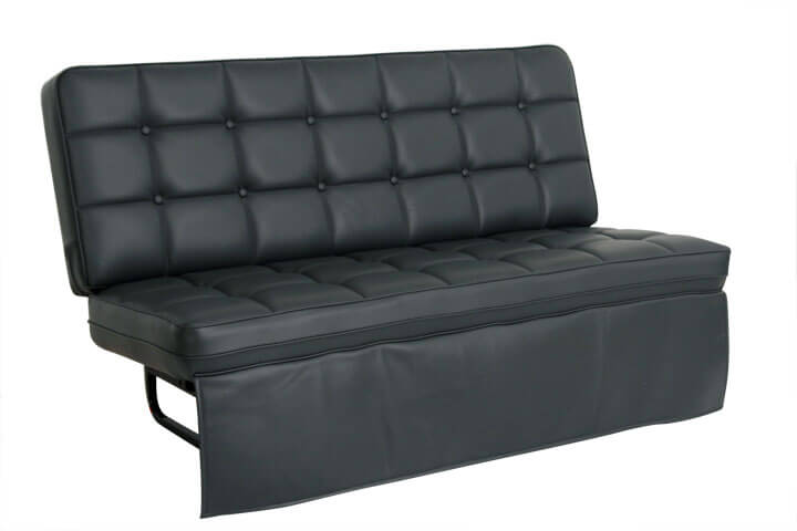 jackknife sofa with seat belts what can i use to clean my white leather duchess bed