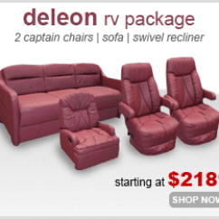 Rv Couch And Chair Covers Bedroom Papasan Seating Furniture Shop4seats Com Deleon Package