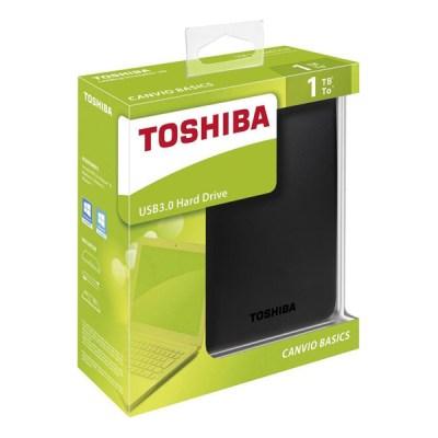 Toshiba Canvio Basics (2018) 1TB