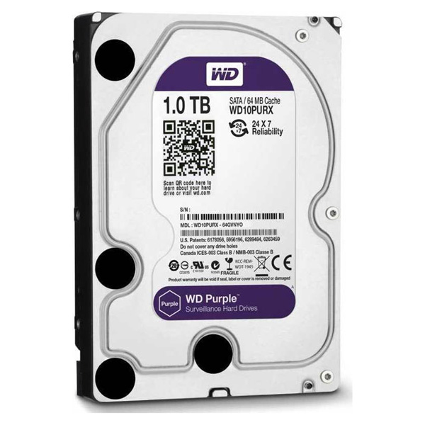 Western Digital Purple 1TB (WD10PURZ)