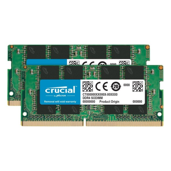 Crucial 16GB DDR4-2666MHz for Mac (CT2K8G4S266M)