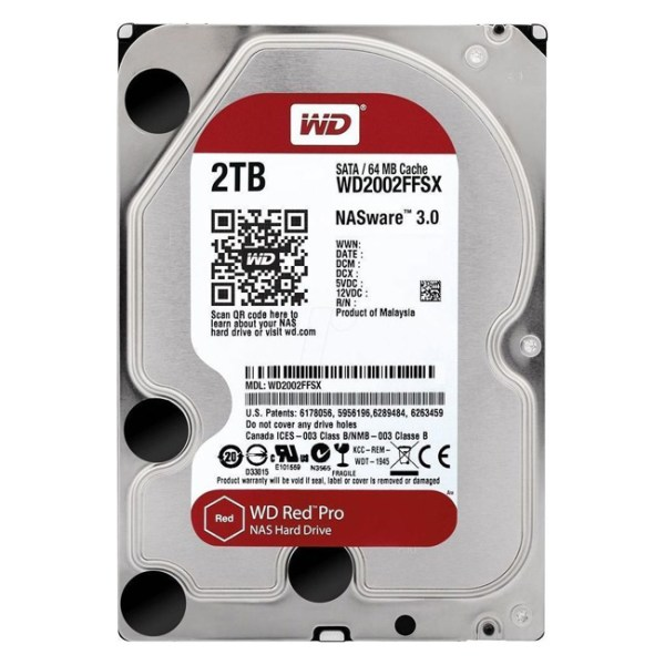 Western Digital Red Pro NAS 2TB