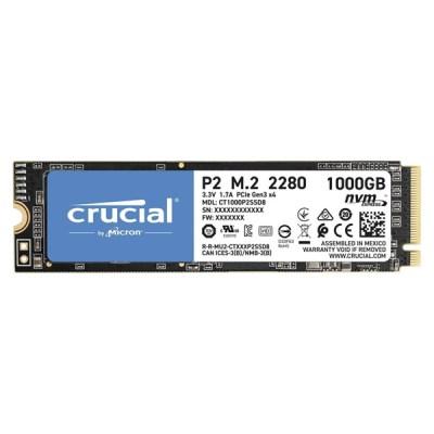 Crucial P2 SSD 1TB M.2 NVMe