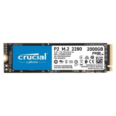 Crucial P2 SSD 2TB M.2 NVMe