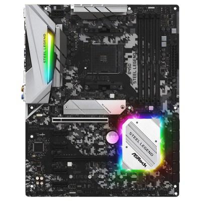 Asrock B450 Steel Legend Motherboard ATX με AMD AM4 Socket