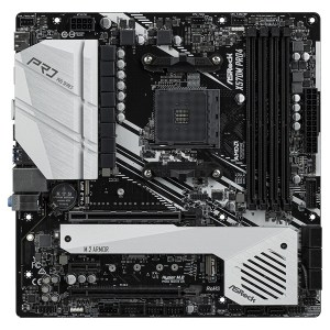 Asrock X570M Pro4 Motherboard Micro ATX με AMD AM4 Socket
