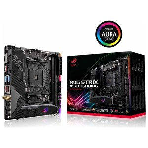 Asus ROG Strix X570-I Gaming Motherboard Mini ITX με AMD AM4 Socket
