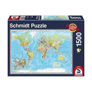 The World Puzzle 1500pcs (εως 36 Δόσεις)