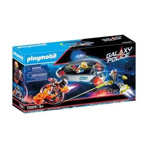 Playmobil Space: Galaxy Police Glider (εως 36 Δόσεις)