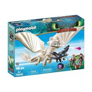 Playmobil Dragons: Η Λευκή Οργή κι ένας Δρακούλης με τα Παιδιά (εως 36 δόσεις)