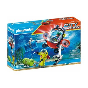 Playmobil City Action: Enviromental Operation With Dive Boat (εως 36 δόσεις)
