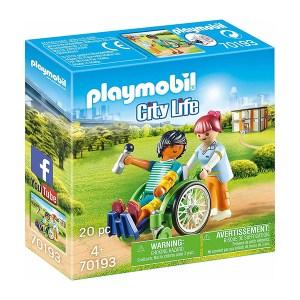 Playmobil City Life: Patient in Wheelchair (εως 36 δόσεις)