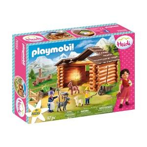 Playmobil Heidi: Ο Πέτερ και η Γιαγιά στη Στάνη με τις Κατσικούλες του (εως 36 δόσεις)