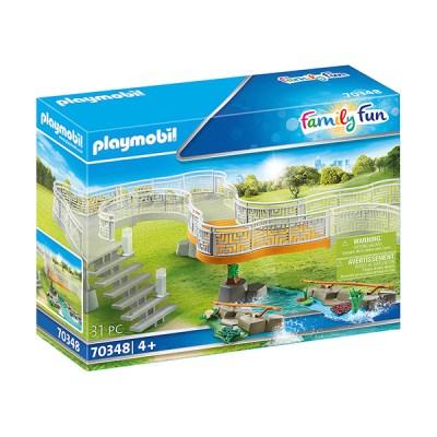 Playmobil Family Fun: Fence Extension (Bag) (εως 36 δόσεις)