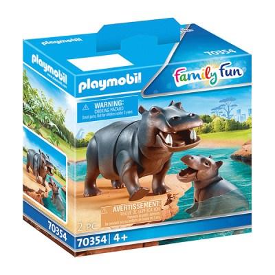 Playmobil Family Fun: Hippos (Bag) (εως 36 δόσεις)