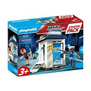 Playmobil City Action: Starter Pack Αστυνομικό Τμήμα (εως 36 δόσεις)