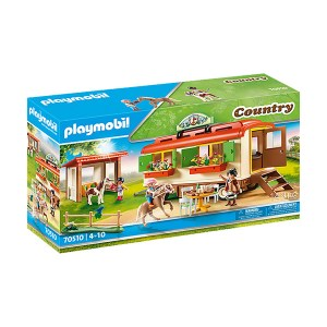 Playmobil Country: Pony Shelter with Mobile Home (εως 36 δόσεις)